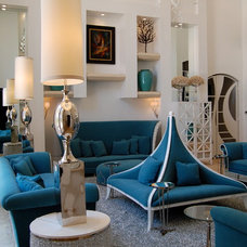 Modern Living Room by Greeson & Fast Design