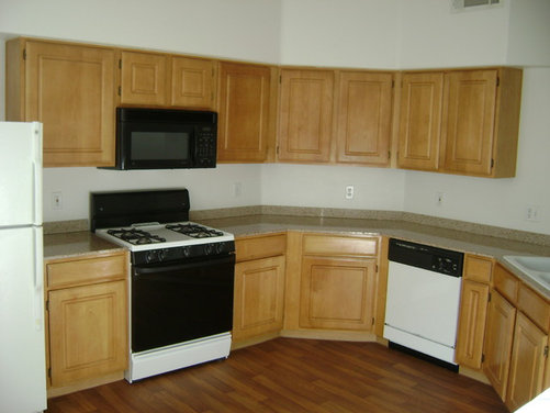 Ugly Apartment Kitchen