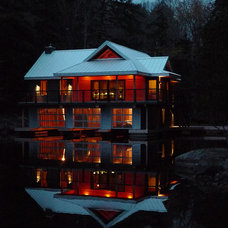 Lake Muskoka Boathouse | Altius Architecture, Inc.