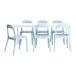 MELLTORP/URBAN Table and 6 chairs