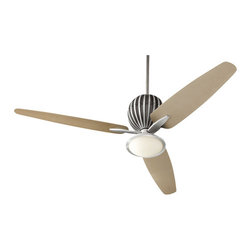"Quorum International - Quorum International 30603 Alumina 60"" 3 Blade Indoor Ceiling Fan - Features:"