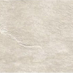 Saime - Eternity Almond 12 x 24 - This beautiful slate stone looking porcelain tile collection makes a great floor both indoors and outside in non-freezing climates.