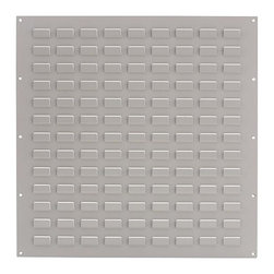 Martha Stewart Living - Martha Stewart Living™ Garage Wall Louver Panel - Take full advantage of your garage or workshop's storage capacity with our Martha Stewart Living™ Garage Wall Louver Panel. These louvered panels provide slots for hanging any size Martha Stewart Living™ Garage Storage Bins (sold separately). The small panel is short enough to run along a work surface beneath a set of cabinets; the large panel will transform empty wallspace into an organized storage area. Easily mounts to wall. Mounting screws provided; holes spaced for wall studs. Holds Martha Stewart Living™ Garage Storage Bins, sold separately.