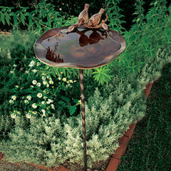 traditional bird baths by Monticello