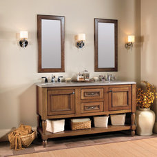 Traditional Bathroom Vanities And Sink Consoles by Wellborn Cabinet, Inc.