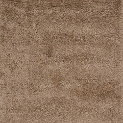 """Loloi Rugs - Loloi Rugs Hera Shag Collection - Mocha, 7'-6"""" x 9'-6"""" - The Hera Shag Collection offers a fun, innovative take on the classic shag rug. Its interesting strand-like texture and striking colors are the perfect update to the shag category. Customers can choose from a selection of mixed tonal shades from warm to cool."""