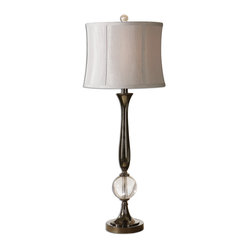 Banida Black Nickel Buffet Lamp