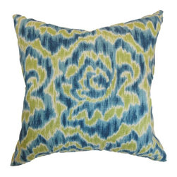 Pillow Collection - The Pillow Collection Laserena Floral Pillow - P18-D-21049-AQUAGREEN-L55R45 - Shop for Pillows from Hayneedle.com! A charming bouquet that's sure to make a vibrant impression The Pillow Collection Laserena Floral Pillow adds a unique touch to your home. Made of 55% linen and 45% rayon this bold square pillow features a plush 95/5 feather/down insert for an ultra-soft feel. The stylized floral print features contrasting color options and you can choose the look that's just right for you.About The Pillow CollectionIdentical twin brothers Adam and Kyle started The Pillow Collection with a simple objective. They wanted to create an extensive selection of beautiful and affordable throw pillows. Their father is a renowned interior designer and they developed a deep appreciation of style from him. They hand select all fabrics to find the perfect cottons linens damasks and silks in a variety of colors patterns and designs. Standard features include hidden full-length zippers and luxurious high polyester fiber or down blended inserts. At The Pillow Collection they know that a throw pillow makes a room.