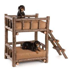 La Lune Collection - Rustic Dog Bunk Bed #5134 by La Lune Collection - Rustic Dog Bunk Bed 5134 by La Lune Collection