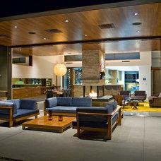 Contemporary Exterior by Jeneration Interiors