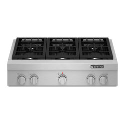 "Jenn-Air 36"" Pro-style Gas Rangetop, Stainless Steel 