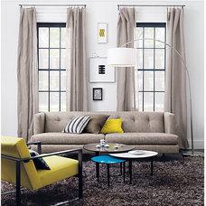 avec tweed sofa in sofas | CB2