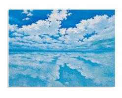Bassett Mirror - Bassett Mirror Hand-Painted Canvas, Infinite Clouds - Infinite Clouds