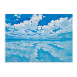 Bassett Mirror - Bassett Mirror Hand-Painted Canvas, Infinite Clouds - Infinite Clouds