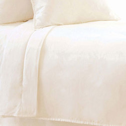 Pine Cone Hill - petite ruffle duvet cover (ivory) - This item comes in��ivory.��This item size is��various sizes.