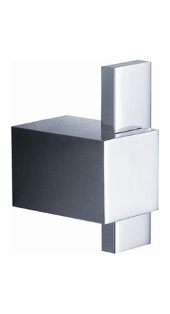 Fresca - Fresca Ellite Robe Hook - All of our Fresca bathroom accessories are made with brass with a triple chrome finish and have been chosen to compliment our other line of products including our vanities, faucets, shower panels and toilets. They are imported and selected for their modern, cutting edge designs.