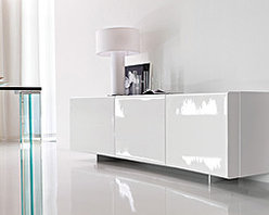 Bay Sideboard By Cattelan Italia - Brought to you by Cattelan Italia a benchmark in quality furniture Bay Sideboard is guaranteed to add elegance and class to your home or office décor. With a strong and durable structure in wood finished in matt & glossy lacquered this Bay Sideboard boasts of modern and stylish look coupled with exceptional quality.