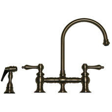 Rustic Kitchen Faucets by PLFixtures