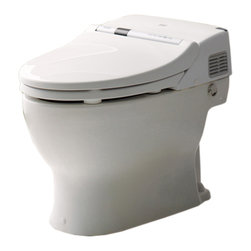 Toto - Toto MS950CG#01 Cotton White Neorest 500 Toilet, 1.6 GPF with SanaGloss - Toto Neorest MS950CG gives an air of sophistication and modern style to any bathroom.