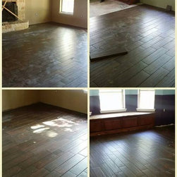 Completed Projects - $6/sf includes carpet take up and disposal,  moving and resetting trim and furniture, and all material and labor