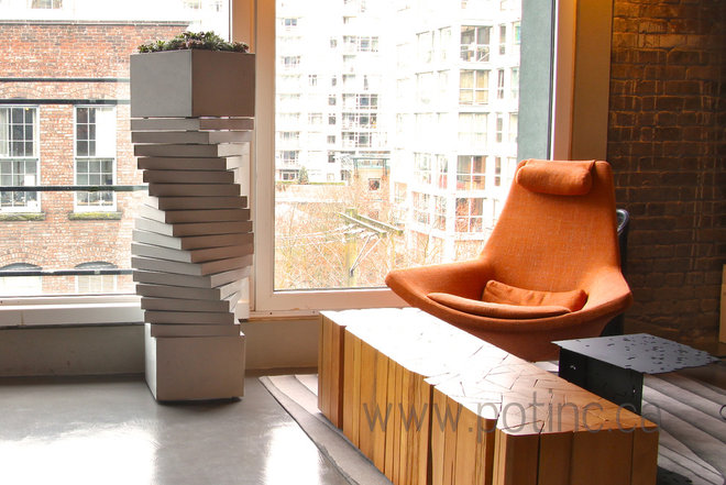 Contemporary Indoor Pots And Planters by Pot Incorporated