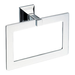 Toto - Toto YR930 Polished Chrome Lloyd Towel Ring - Toto YR930#CP Bathroom Accessory Lloyd Towel Ring in Polished Chrome Finish.