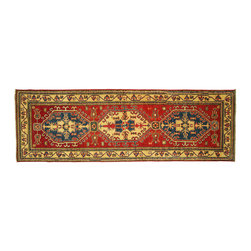 Manhattan Rugs - New Authentic Oriental Kazak Runner 3x8 Rust Red & Ivory Hand Knotted Rug H3476 - This is a true hand knotted oriental rug. it is not hand tufted with backing, not hooked or machine made. our entire inventory is made of hand knotted rugs. (all we do is hand knotted)