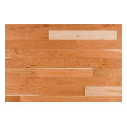 Jasper - Jasper Hardwood - American Black Cherry Collection - American cherry floors evoke all of the beauty and practical value you expect in any room of your home. With this nail-down hardwood flooring, an organic texture like American cherry solid hardwood flooring also lends a level of structural stability, with natural color variation and decoration reminding you of the power of natural materials as defining features of any 21st century space. [20.0 sq ft/box] - Natural / American Black Cherry / Standard / 3 1/4 - If dimensions = 0, value = Random