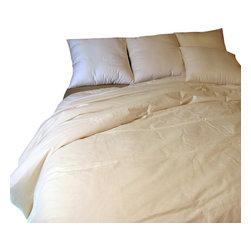 Bio Sleep Concept - Tropical Organic Wool Comforter, California King - This cozy and luxurious organic wool comforter provides a total night of sleep comfort.