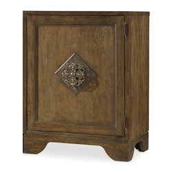 """Hooker Furniture - Hooker Furniture Sanctuary Right Bunching Cabinet in Middlecross Aged Oak - Pursue serenity at home..Create your own personal sanctuary, a special place where you can experience..comfort within. Hardwood Solids and Oak Veneers. Dimensions: 27""""W x 20""""D x 36""""H."""
