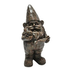 Kelkay - Woodland Forest Gnome - Kelkay Gnomes for Homes! This assortment of Gnomes has been exclusively designed by Kelkay to have a traditional and authentic appearance. Made from durable resin-stone and designed for both indoor and outdoor  each Gnome is a great addition to any home or garden. Each Gnome has its own individual storybook tag  including the gnome story and personal rhyme. It also contains details of the full collectable assortment of Gnomes for Homes.  This item cannot be shipped to APO/FPO addresses. Please accept our apologies.