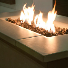 Modern Firepits by authenTEAK Outdoor Living