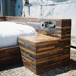 Stack Bed - Hand made from solid
