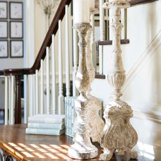Traditional Staircase by Linda McDougald Design   Postcard from Paris Home