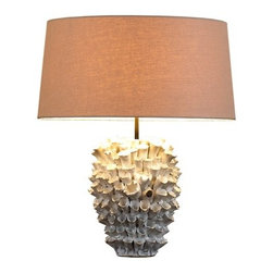 Natural Design House - Original Ceramic Lamp - Make a statement in any room with our handmade ceramic lamp . This ceramic lamps will never be dime-a-dozen decor items. This elegant crafting technique has thrived with an unmatched reputation for over 800 years, resulting in sophisticated, handmade perfection.