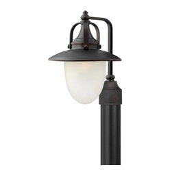 Hinkley Lighting - Hinkley Lighting 2081-LED 1 Light LED Post Light Pembrook Collection - Single Light LED Post Light from the Pembrook CollectionFeatures: