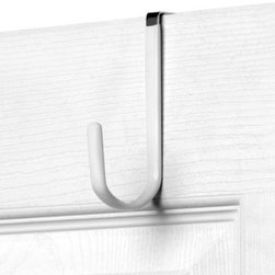 Spectrum - Over the Door 2-Pack Metal Hook - Add storage to any room in your home with the Over the Door Metal Hook. Store your hats, coats, clothes, bags and other accessories by taking advantage of unused space.
