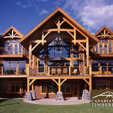 Craftsman Deck by Canadian Timberframes Ltd
