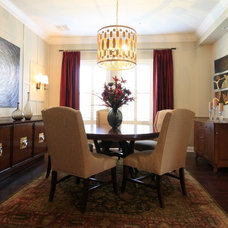 Contemporary Dining Room by IN Studio & Co. Interiors