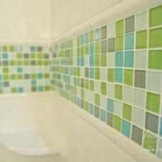 Transitional Bathroom by Imago Dei