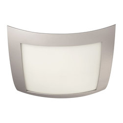 Philips - Philips PH-302008748 Evita Ceiling with Frosted glass diffuser, Grey - Philips PH-302008748 Evita Ceiling with Frosted glass diffuser, Grey