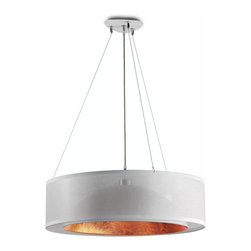 Hind Rabii - Hanging Lamp Dome 6500 WC from Hind Rabii. Made in Belgium. - Since 1997, Hind Rabii Exclusive light design create and manufacture high range contemporary light: wall lamps, hanging lamps, floor lamps, tables lamps and outdoor lighting. All the production is based in Stembert-Belgium.