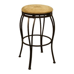 American Heritage - Padova Counter Stool/Bar Stool (30 in. Bar St - Choose Seat Height: 30 in. Bar StoolFinished In Coco With Camel Microfiber. Full Swivel. Floor Glides. Counter Stool Dimensions: 21 in. W x 21 in. D x 24 in. H. Counter Seat Height: 24 inches. Bar Stool Dimensions: 21 in. W x 21 in. D x 30 in. H. Bar Seat Height: 30 inches