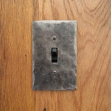 Modern Switch Plates And Outlet Covers by Black Turtle Metal Works