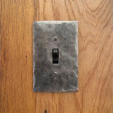 Modern Switchplates by Black Turtle Metal Works