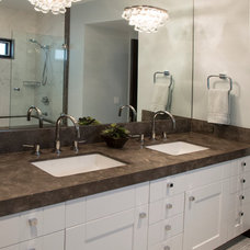 Modern Bathroom by James Glover Residential & Interior Design