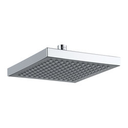 Delta Single Setting, Overhead Shower Head - RP50841 - Getting ready in the morning is far from routine when you're surrounded by a room and in the company of a faucet that reflects your personal style