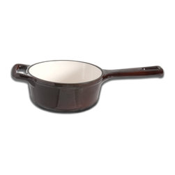 Berghoff - Berghoff Neo Cast Iron Saucepan 2.1 qt. - Cast iron has great heat retaining abilities and can be used on any heat source. Classic in a modern design, solid material for all your cooking needs!