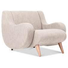contemporary chairs Wimbledon Beige Arm Chair
