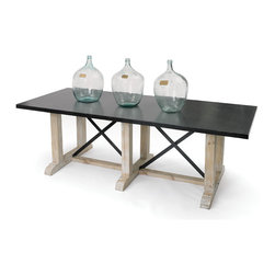 #N/A - Devonshire Dining Table - Devonshire Dining Table. Style: Modern, Width: 96, Depth: 39, Height: 30
